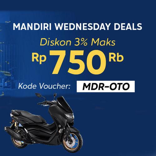 HSRWHEEL Mandiri Wednesday Deals (25824299) di Kota Jakarta Selatan