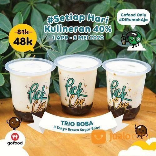 Pick Cup #SETIAPHARIKULINER DISKON 40% Periode s/d 5 Mei 2020 (25824651) di Kota Jakarta Selatan