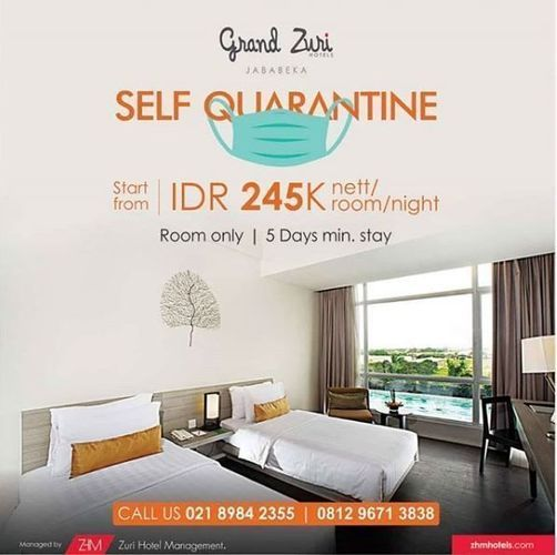 Grand Zuri Jababeka - Promo Self Quarantine (25825163) di Kota Bekasi