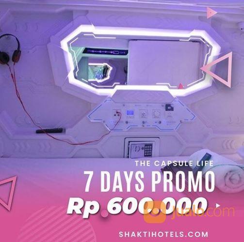 Shakti Capsule Hotel - 7 Days Promo (25825195) di Kota Jakarta Selatan