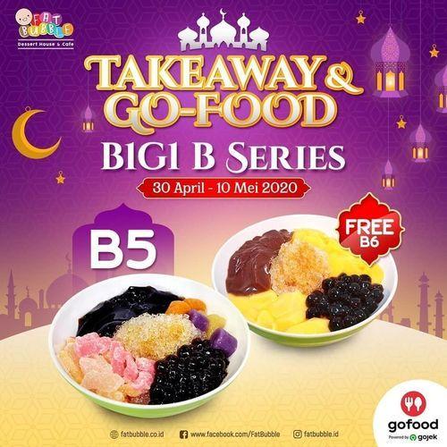 FAT BUBBLE BUY 1 GET 1 - TAKEAWAY & GOFOOD (25835931) di Kota Jakarta Selatan