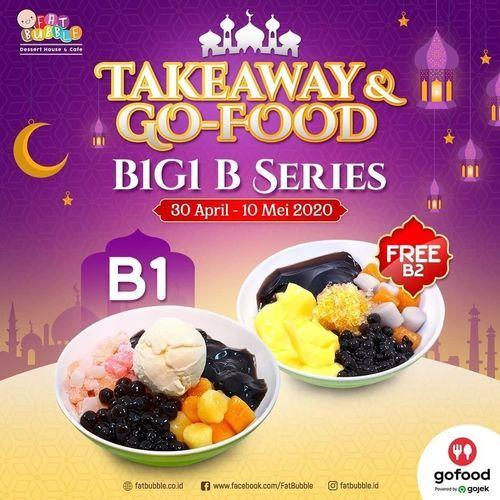 FAT BUBBLE BUY 1 GET 1 - TAKEAWAY & GOFOOD (25835935) di Kota Jakarta Selatan