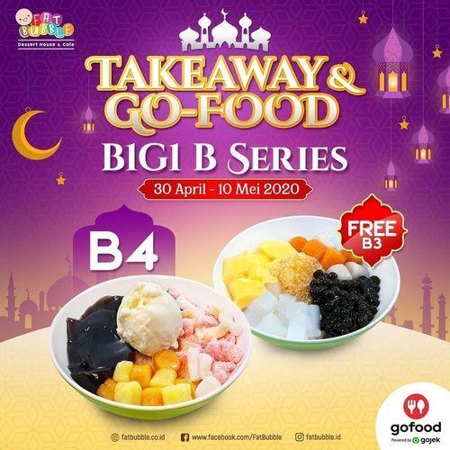 FAT BUBBLE BUY 1 GET 1 - TAKEAWAY & GOFOOD (25835939) di Kota Jakarta Selatan
