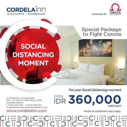 Cordela Inn Palembang Social Distancing Package - Promo Hotel (25836019) di Kota Palembang