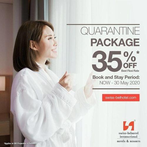 Swiss-Belinn Tunjungan Surabaya Promo Quarantine Package 35% OFF (25836123) di Kota Surabaya