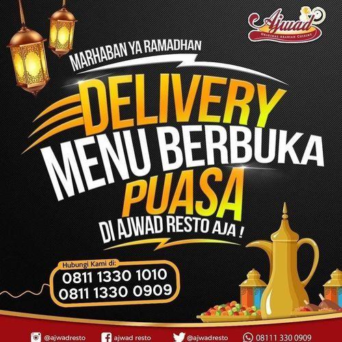 Ajwad Resto DELIVERY Promo Paket Salam Menu Berbuka Puasa (25836151) di Kota Jakarta Selatan