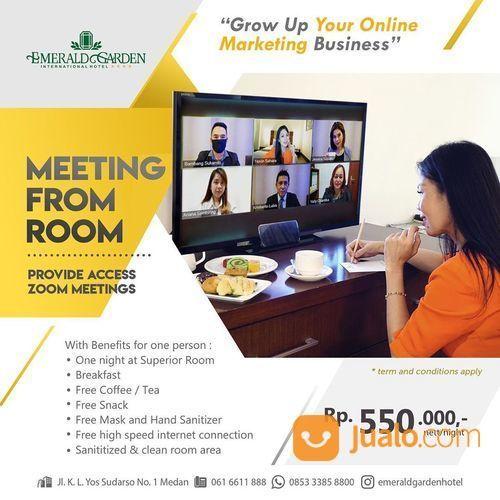 Emerald Garden International Hotel - Meeting from Room Promo Rp 550k nett / night (25836775) di Kota Medan