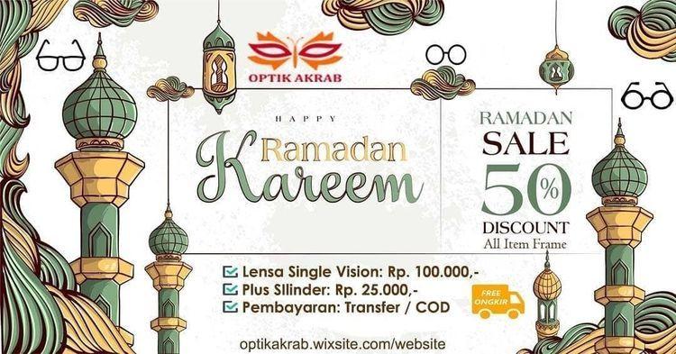 OPTIK AKRAB Promo Ramadhan - Diskon 50% untuk semua item frame (25837583) di Kota Jakarta Selatan