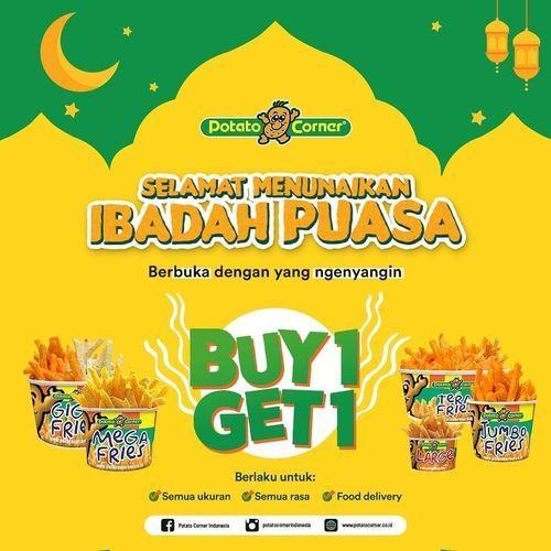 Potato Corner Buy 1 Get 1 (25861011) di Kota Jakarta Selatan