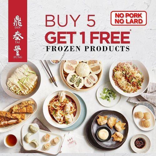 Din Tai Fung Buy 5 Get 1 Free (25861103) di Kota Jakarta Selatan