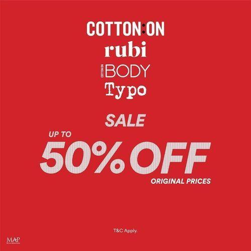 Cotton On Sale Up To 50% Off (25861391) di Kota Jakarta Selatan