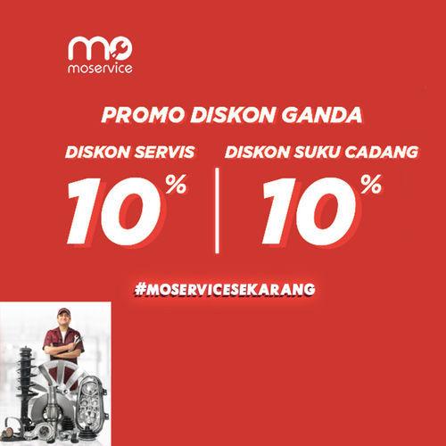Momobil.id Diskon Service 10% + Diskon Suku Cadang 10% (25861539) di Kota Jakarta Selatan