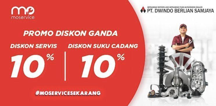 Momobil.id Diskon Service 10% + Diskon Suku Cadang 10% (25861543) di Kota Jakarta Selatan