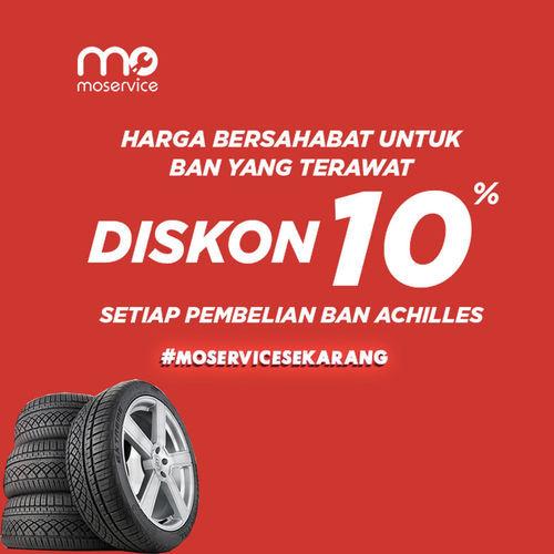 Momobil.id Diskon Ban 10% Ban Achilles (25861551) di Kota Jakarta Selatan