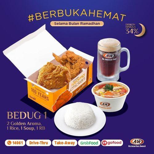 A&W Promo Paket #BerbukaHemat Diskon hingga 34% (25879363) di Kota Jakarta Selatan