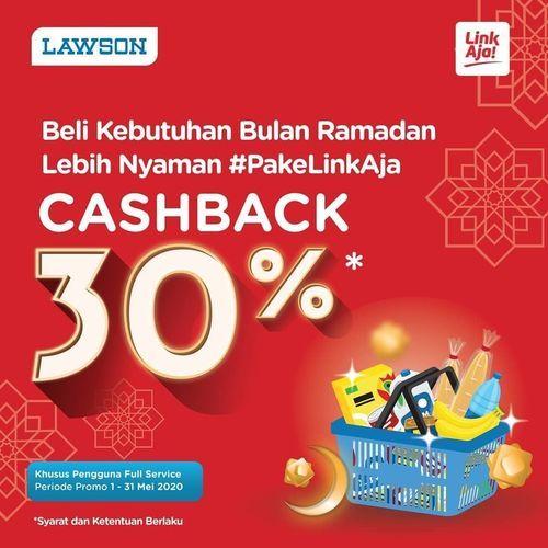 LAWSON INDONESIA 30% CASHBACK WITH LINKAJA (25887907) di Kota Jakarta Selatan