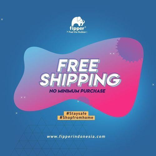 FIPPER FREE SHIPPING ORDER VIA WEBSITE (25888207) di Kota Jakarta Selatan