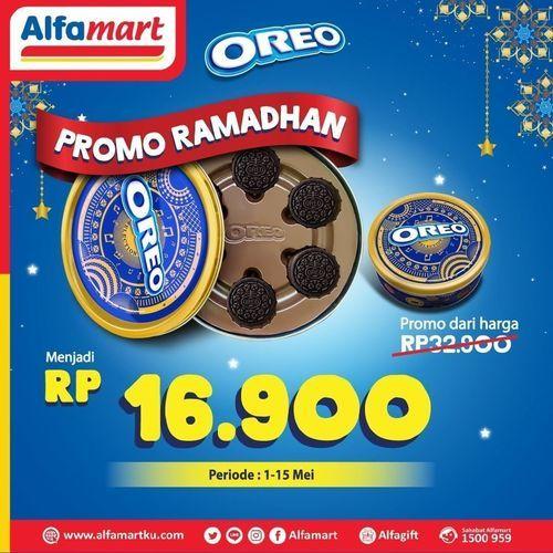 Alfamart Promo Ramadhan harga SPESIAL untuk Oreo Selection Can (25891659) di Kota Jakarta Selatan