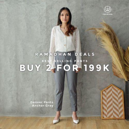 W STAND FOR WOMAN RAMADHAN DEALS: Buy 2 for 199k (25891935) di Kota Jakarta Selatan