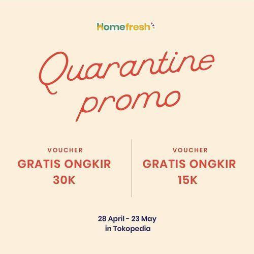 Homefresh.id promo gratis ongkir & 30K OFF (25891999) di Kota Jakarta Selatan