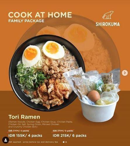 Shirokuma - Promo Cook at Home (25892823) di Kota Jakarta Selatan