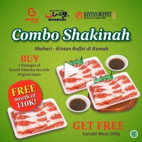 Boga Kitchen - Promo Combo Sakinah (25893003) di Kota Jakarta Selatan