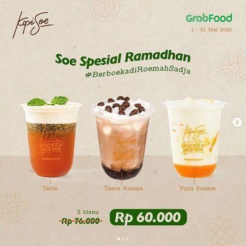 Kopi Soe - Promo Spesial Ramadhan via Grabfood (25893447) di Kota Jakarta Selatan