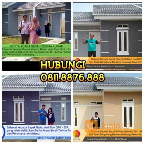 Rumah Subsidi Cukup Booking Fee 1,5JT Langsung Akad & Terima Kunci (25900751) di Kab. Tangerang