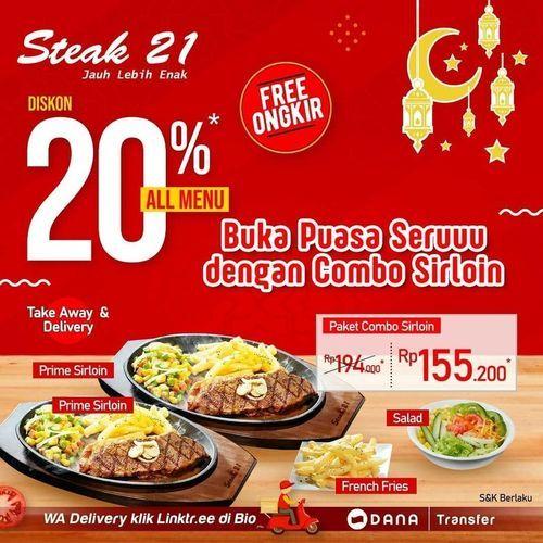 Steak 21 Promo Buka Puasa (25901503) di Kota Jakarta Selatan