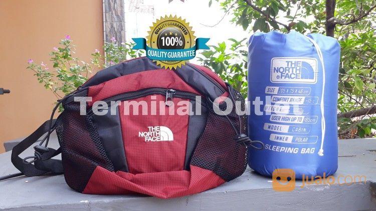 Paket Sleeping Bag Polar Biasa + Waist Bag (25902123) di Kota Jakarta Utara