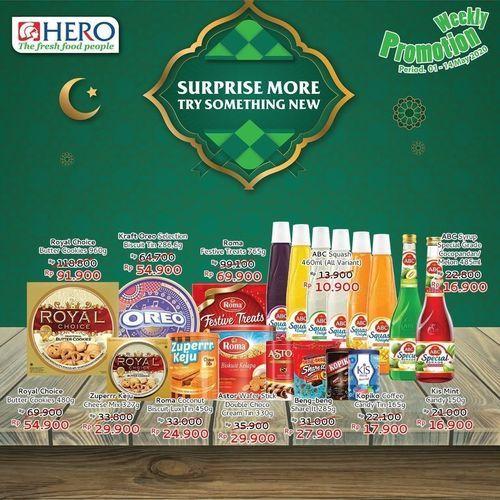 Hero Weekly Promotion (25902295) di Kota Jakarta Selatan