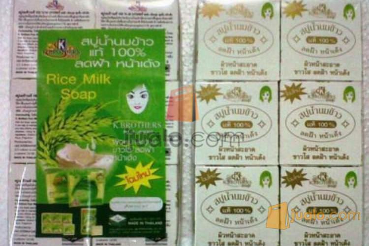 Distributor Sabun Beras Thailand Asli 65rb Yogyakarta Jualo