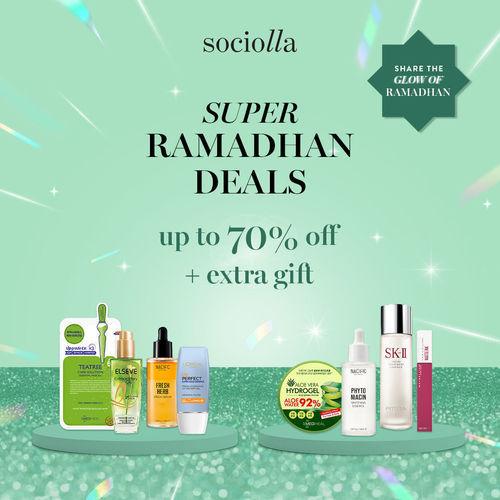 Sociolla Super Ramadhan Deals up to 70% OFF + Extra Gift* (25913463) di Kota Jakarta Selatan