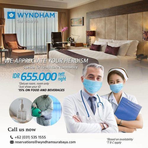 Wyndham Hotel Surabaya Promo for Healthcare Workers (25919275) di Kota Jakarta Selatan