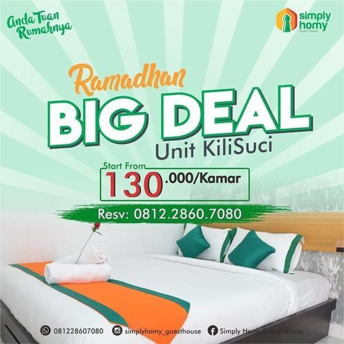 Simply Homy Guest House PROMO SPESIAL RAMADHAN BIG DEAL (25920011) di Kota Yogyakarta