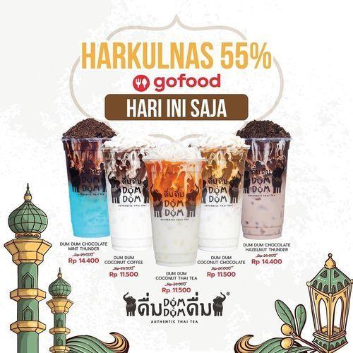 Dum Dum Thai Drinks Harkulnas Diskon 55% (25921711) di Kota Jakarta Selatan