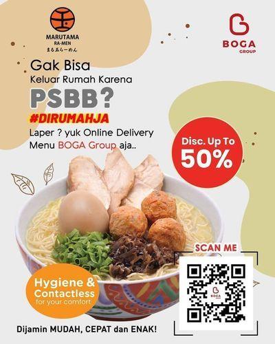 Marutama Ramen Disc Up To 50% (25921923) di Kota Jakarta Selatan