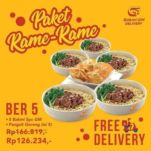 Bakmi GM Promo Paket Rame-Rame (25921951) di Kota Jakarta Selatan