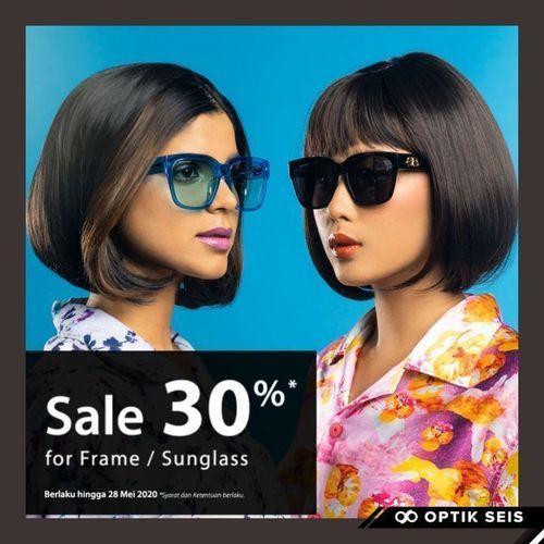 Optik Seis Sale 30% For Frame/Sunglasses (25925039) di Kota Jakarta Selatan