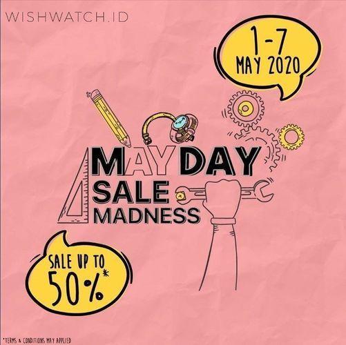 WISHWATCH.ID May Day Sale Madness 50% (25925043) di Kota Jakarta Selatan