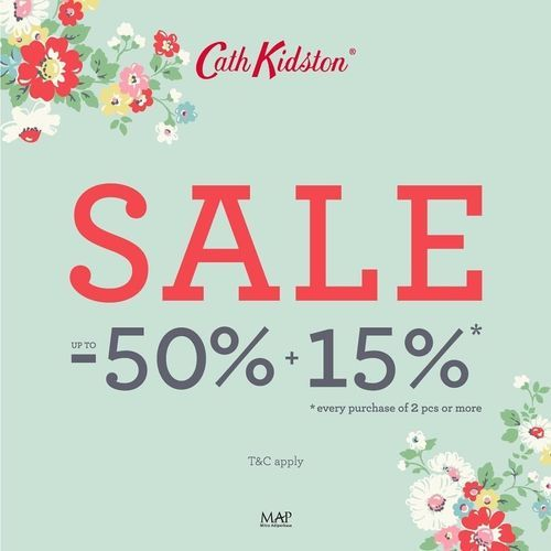 Cath Kidston Sale 50% Off (25925079) di Kota Jakarta Selatan