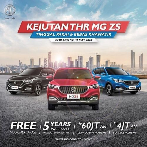 MG Motors Kejutan THR MG ZS (25925539) di Kota Jakarta Selatan