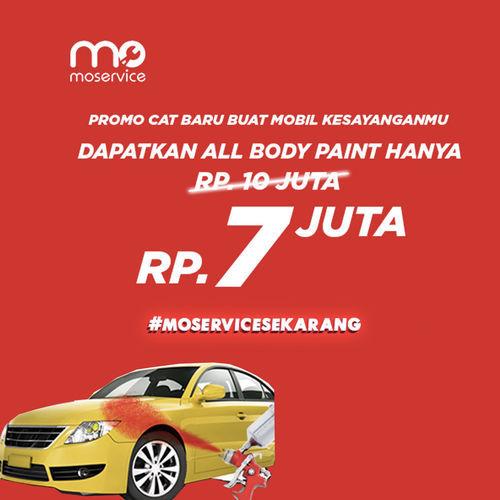 Momobil.id Diskon 30% All Body Paint by 3R Body Repair. (25926687) di Kota Jakarta Selatan