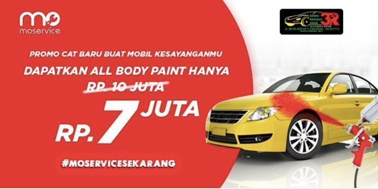 Momobil.id Diskon 30% All Body Paint by 3R Body Repair. (25926691) di Kota Jakarta Selatan