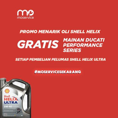 Momobil.id Promo Oli Shell Helix (25926703) di Kota Jakarta Selatan
