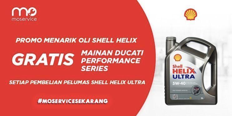 Momobil.id Promo Oli Shell Helix (25926707) di Kota Jakarta Selatan