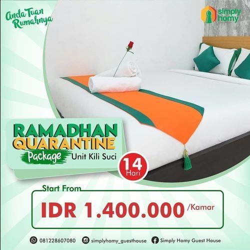 Simply Homy Guest House Promo Ramadhan Quarantine Package 14 Hari (25926731) di Kota Yogyakarta
