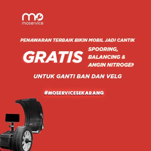 Momobil.id Free Spooring, Balancing, Nitrogen (25926807) di Kota Jakarta Selatan