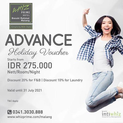 Whiz Prime Hotel Advance Voucher Promo (25926827) di Kota Malang