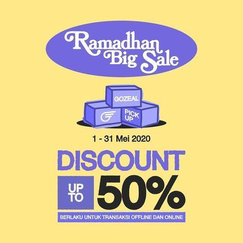 Gozeal Discount up to 50% RAMADHAN BIG SALE (25927119) di Kota Jakarta Selatan